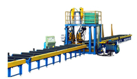 H Beam Horizontal Production Line