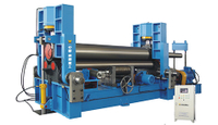 Multi-function 3-roller Plate Bending Machine
